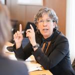 DAAD - Interview mit den Leiter der binationalen Studiengaenge, Bonn 21.03.2013
