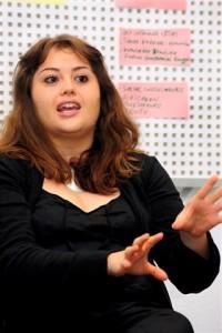 Ericka Toledo Zurita (30) aus Mexiko ist Anwältin für Umweltrecht. Sie studiert in Freiburg im DAAD-geförderten Masterstudiengang Environmental Governance.