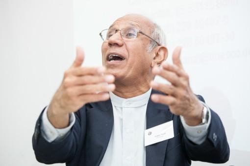 The Malaysian Alternative Nobel Prize winner Professor Anwar Fazal Photo: Michael Meinhard