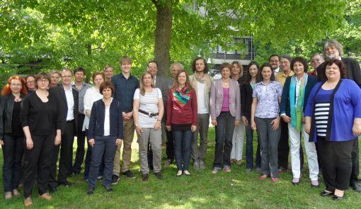 Alle zusammen: Vertreter der entwicklungsbezogenen Postgraduiertenstudiengänge  Foto:AGEP