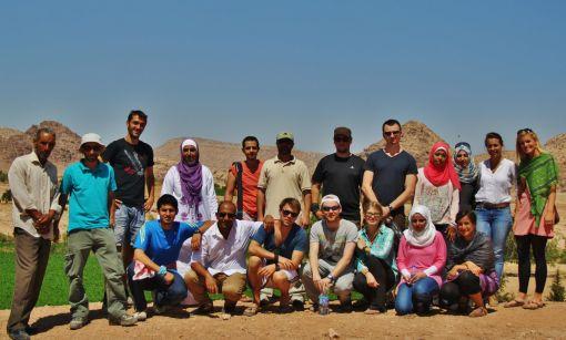Sie kommen aus den unterschiedlichsten Fachrichtungen - Die Studierenden des Masters Integrated Water Resources Management © MSc IWRM Programme