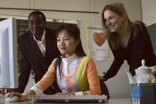 In Arbeitsgruppen unterstützen sich die Mathematiker gegenseitig © Fachbereich Mathematik an der TU Kaiserslautern
