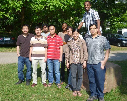 International: Die Doktoranden an der TU Kaiserslautern kommen aus Asien, Afrika und Lateinamerika © Fachbereich Mathematik an der TU Kaiserslautern