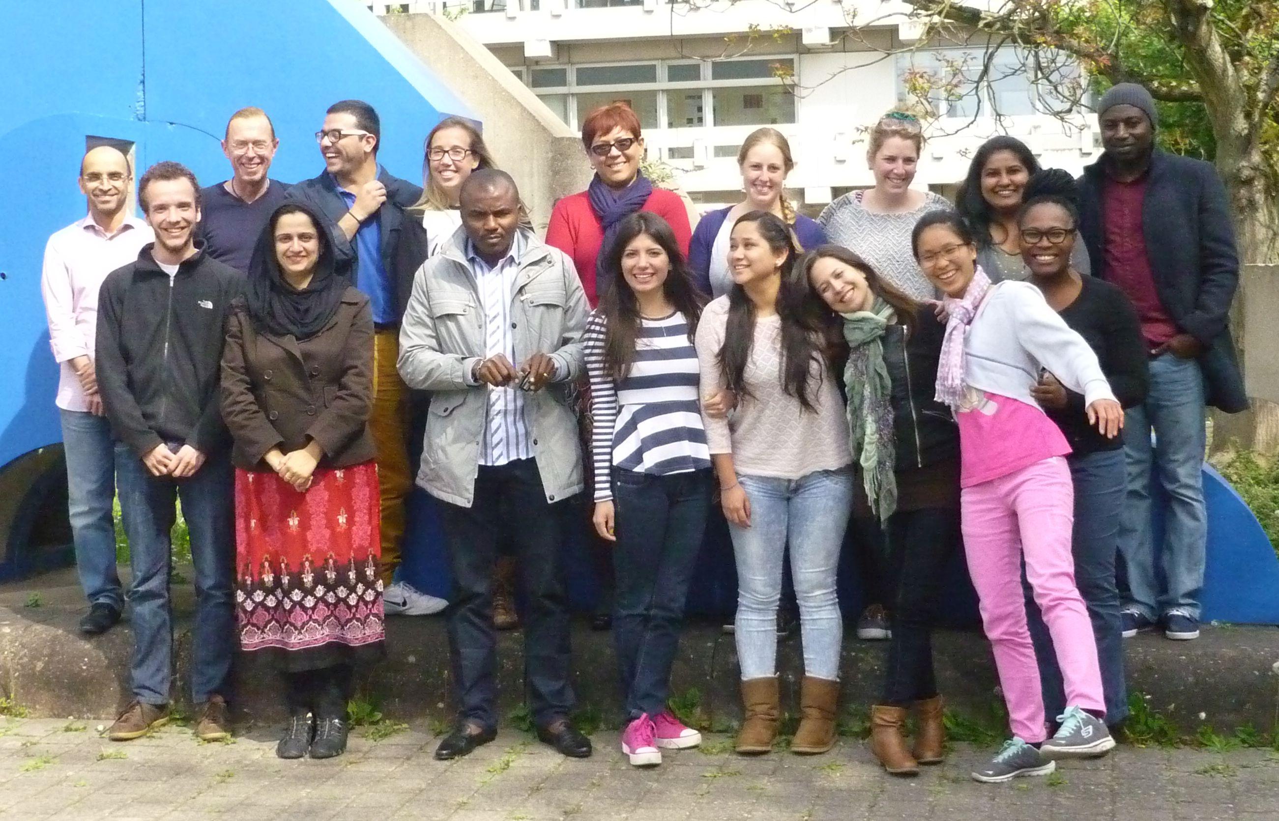 Bereits Experten in Public Health: Die Teilnehmer des Short Courses © International Health Universität Heidelberg