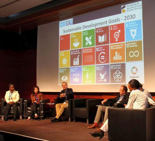 Nachhaltigkeit ist ein zentrales Thema der Sustainable Development Goals der Vereinten Nationen © Katharina Günter/Hochschule Nürtingen-Geislingen