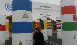 I attended the COP 21 as a conference observer for my home country Nicaragua © private