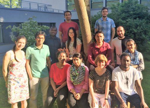 Die TropHEE-Stipendiaten kommen aus der ganzen Welt nach Darmstadt © Hochschuldidaktische Arbeitsstelle/TU Darmstadt
