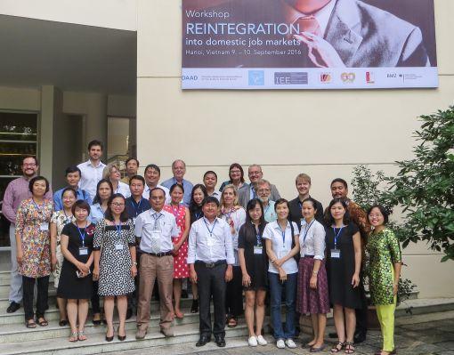 Reintegration in Vietnam: dieses Thema beschäftigte Epos-Alumni und Arbeitgeber in Hanoi © DAAD Hanoi