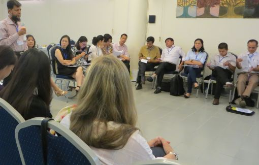 Lively debate: The participants exchanged ideas and swapped experiences © DAAD Hanoi